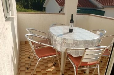 terrace with a view, Apartments Perić Marija